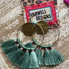 Load image into Gallery viewer, Misc Tassel/Bead Earring
