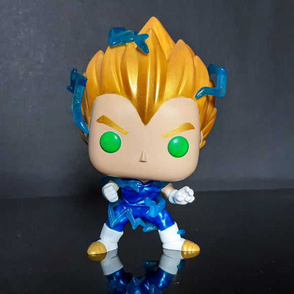 Funko Pop! Dragon Ball - Vegeta Super Saiyan 2 Custom - Pop Hunters Perú