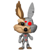 Funko Pop! Looney Tunes - Wile. E Coyote (Cyborg) exclusivo de FYE - Pop Hunters Perú