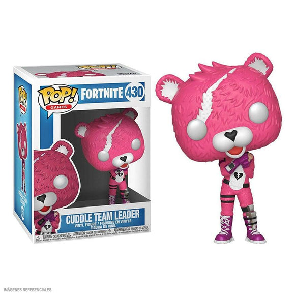 Funko Pop! Fortnite - Cuddle Team Leader - Pop Hunters Perú