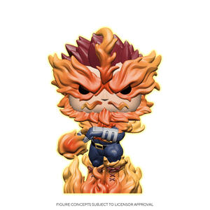 Funko Pop! My Hero Academia - Endeavor exclusivo de Amazon (Brilla en la Oscuridad)