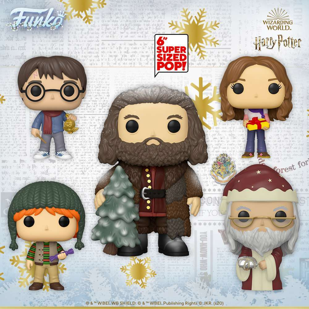 [Pre-Venta] Funko Pop! Harry Potter - Set de 5 - Pop Hunters Perú
