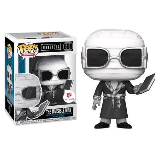 Funko Pop! Monsters - Hombre Invisible exclusivo de Walgreens - Pop Hunters Perú
