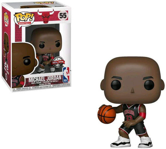 Funko Pop! NBA - Michael Jordan (Bulls Black Jersey) - Pop Hunters Perú