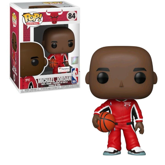 Funko Pop! NBA - Michael Jordan exclusivo de Fanatics - Pop Hunters Perú
