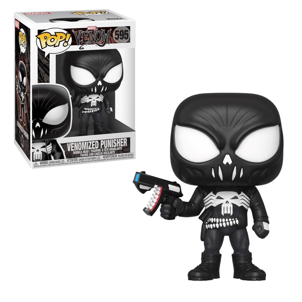 Funko Pop! Punisher Venomized - Pop Hunters Perú