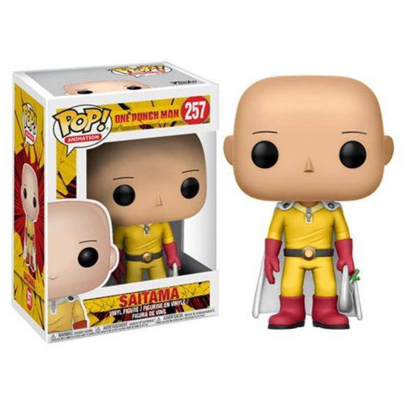 Funko Pop! One Punch Man - Saitama - Pop Hunters Perú