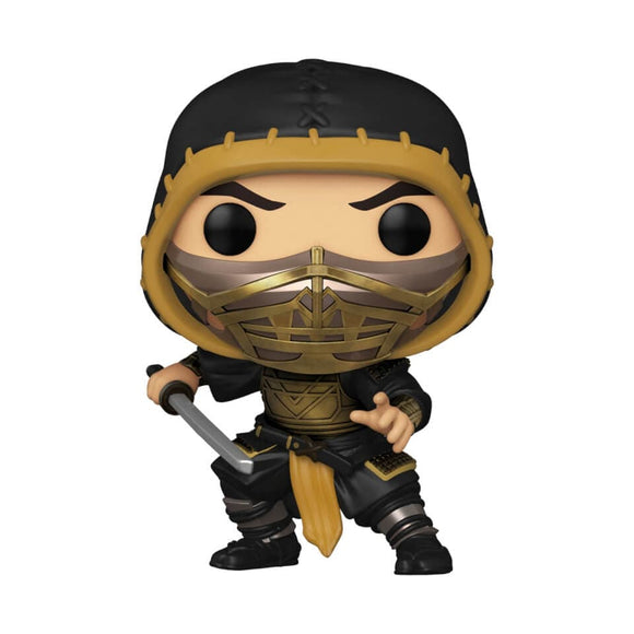 [Pre-venta] Funko Pop! Mortal Kombat 2021 - Scorpion (Metalico)