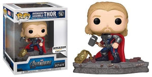 Funko Pop! Thor Avengers Assemble Exclusivo de Amazon - Pop Hunters Perú