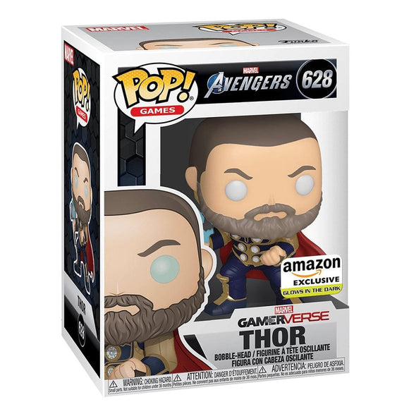Funko Pop! Avengers - Thor (Brilla en la Oscuridad) Exclusivo de Amazon - Pop Hunters Perú