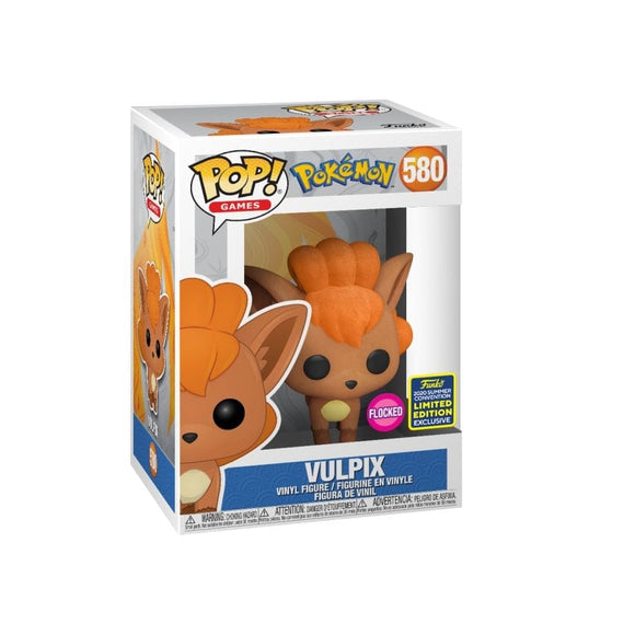 Funko Pop! Pokemon - Vulpix Flocked exclusivo SDCC