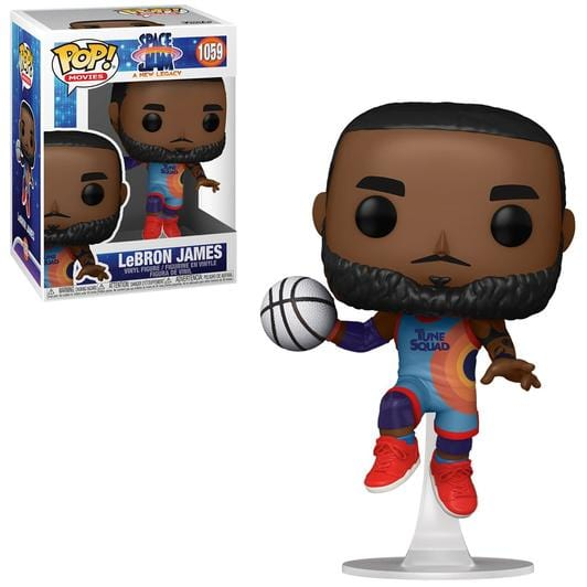 [Pre-venta] Funko Pop! Space Jam - LeBron James (Saltando)