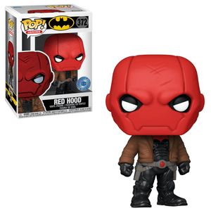 [Pre-venta] Funko Pop! DC - Red Hood exclusivo de Pop in a Box - Pop Hunters Perú