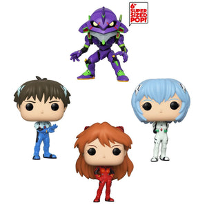 Funko Pop! Evangelion - Set Completo - Pop Hunters Perú