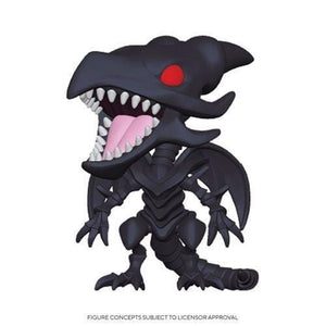 Funko Pop! Yugioh - Dragon Negro de Ojos Rojos - Pop Hunters Perú
