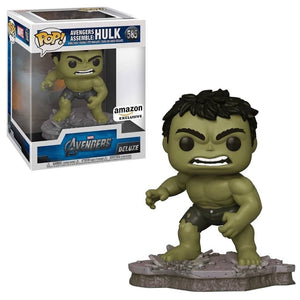 Funko Pop! Hulk Avengers Assemble Deluxe Exclusivo de Amazon - Pop Hunters Perú
