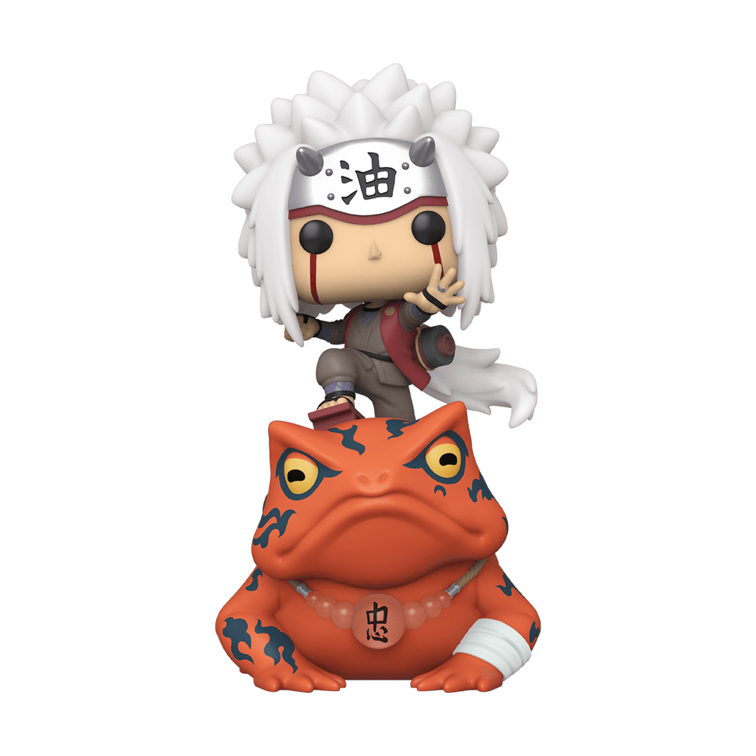 Funko Pop! Naruto - Jiraiya on Toad Special Edition - Pop Hunters Perú