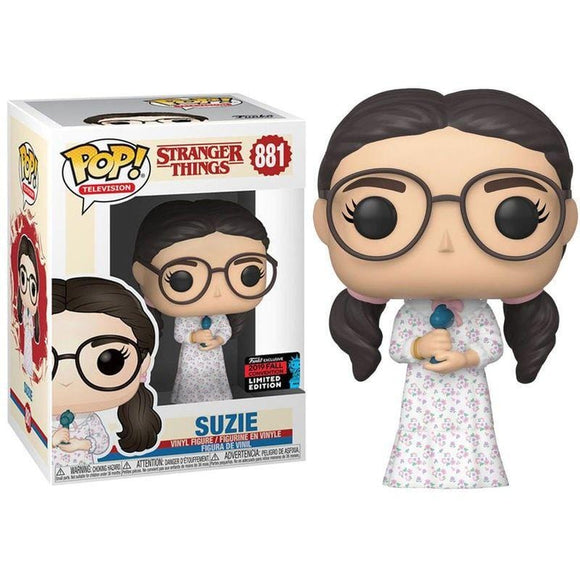 Funko Pop! Stranger Things - Suzie Exclusiva de la NYCC - Pop Hunters Perú