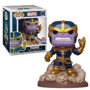 "Funko Pop! Thanos 6"" Pulgadas Exclusivo de PX - Pop Hunters Perú"