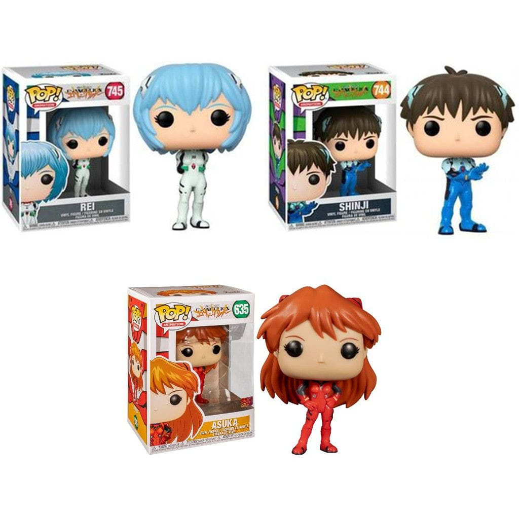 Funko Pop! Evangelion - Set