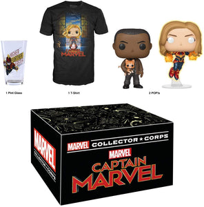 Marvel Collector Corps - Capitana Marvel (Detalle)