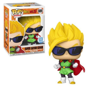 Funko Pop! Dragon Ball - Super Saiyan Gohan (Lentes de Sol) exclusivo de Funko Shop