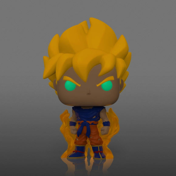 [Pre-Venta] Funko Pop! Dragon Ball - Goku Super Saiyan (Primer Aparicion) Brilla en la Oscuridad - Pop Hunters Perú