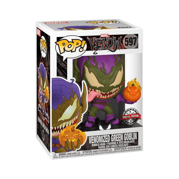 Funko Pop! Venom - Green Goblin Venomized