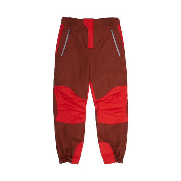 Bordeaux Red Hiking Trouser