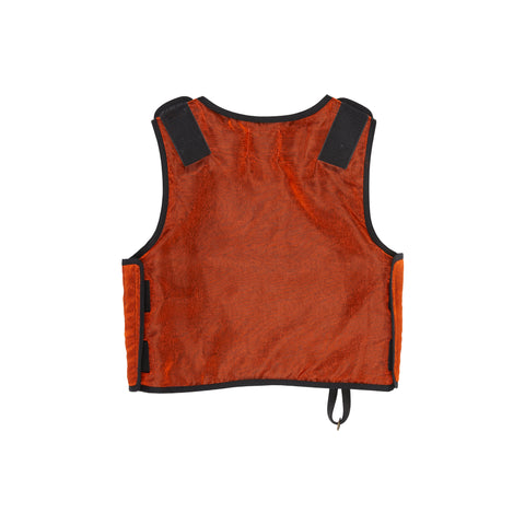 Orange Organza Protection Vest