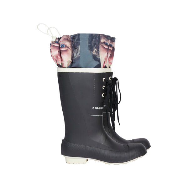 Black A Clockwork Orange Boots