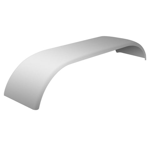 "120"" Stainless Steel Standard Full Fender With Rolled Edge (Pair)"