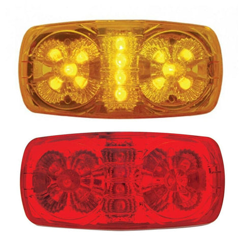 14 LED RECTANGULAR CLEARANCE MARKER LIGHT W/ REFLECTOR