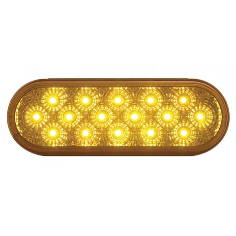 "6"" 16 LED OVAL STT AND PTC LIGHT"