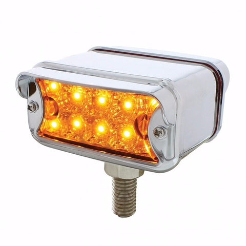 10 LED DUAL FUNCTION T MOUNT REFLECTOR DOUBLE FACE TURN SIGNAL LIGHT