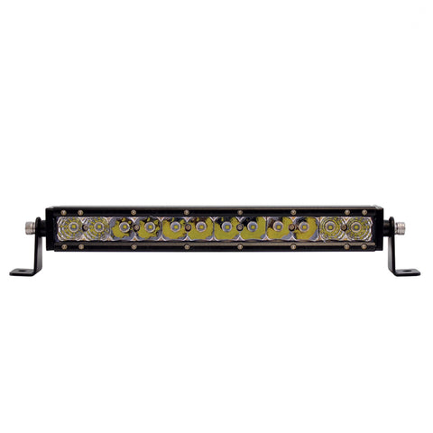 "12 High Power CREE LED Single Row 12 1/2"" Light Bar"