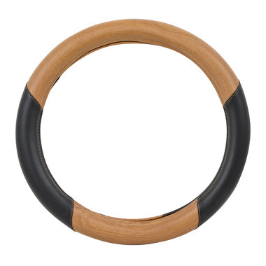 Steering Wheel Cover - Light Wood