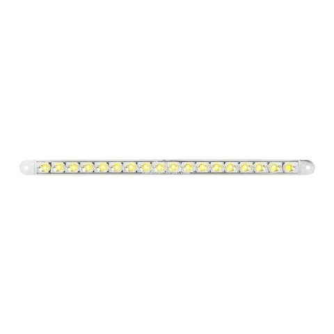 "12"" LED PEARL SERIES DUAL FUNCTION FLUSH SURFACE MOUNT LIGHT BAR"