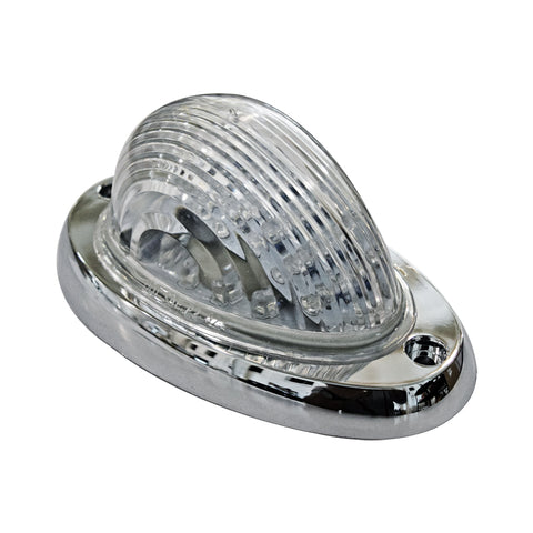 FREIGHTLINER CLEAR AMBER LED BUBBLE SLEEPER MARKER LIGHT