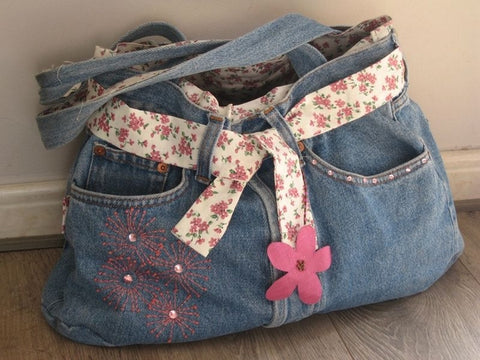 comment faire sac jean facilement