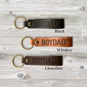 Boydad® Leather Keychain