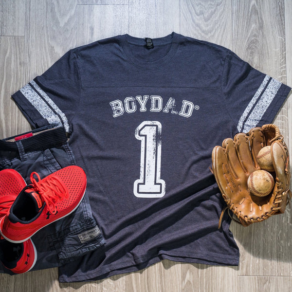 Boydad® One Mens Game Tee Navy & White