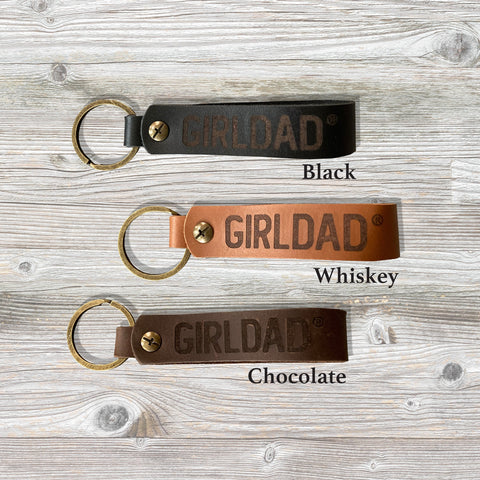 Girldad® Leather Keychain
