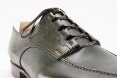Saint Crispin's Ghillie Shoes in Olive - UK 9.5 G (Wide)