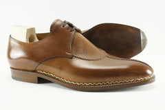 Saint Crispin's Split Toe Derby in Russian Calf
