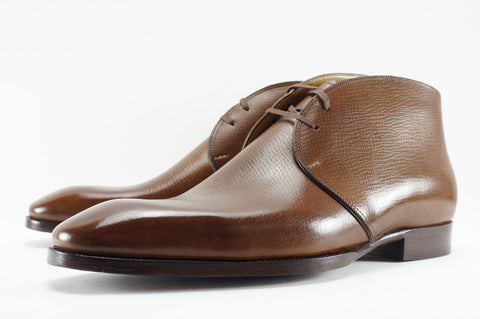Saint Crispin's Chukka in Russian Calf - UK 10.5 G (Wide)
