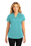 Port Authority® Ladies Digi Heather Performance Polo. L574
