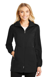 Port Authority® Ladies Active Hooded Soft Shell Jacket. L719