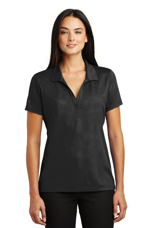 Sport-Tek® Ladies Embossed PosiCharge® Tough Polo®. LST630