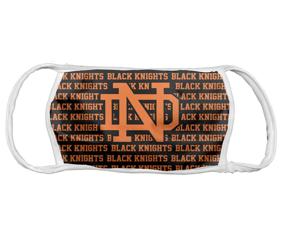 School Themed Face Mask North Davidson